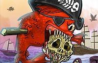 Alimentar Piranha - Piratas