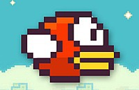 Red Flappy Bird