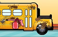 Play:School Bus Wash
