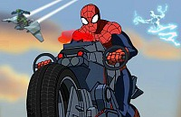 Spiderman - Ultimate Spider Cycle