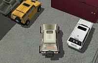 SUV Parkeren 3D