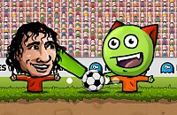 Speel nu het nieuwe voetbal spelletje Poppen WK Voetbal 2014