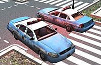 Politieauto Parkeren 3D