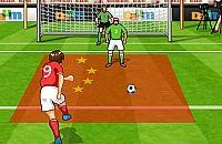 Speel nu het nieuwe voetbal spelletje WK Vrije Trap