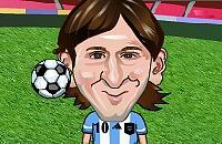 Speel nu het nieuwe voetbal spelletje Hooghouden met Messi
