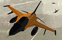 Play:Orange Jet Fighter