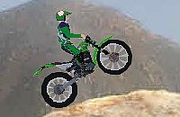 Trial Bike Mountains