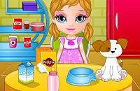Play:Baby Barbie Adopts A Pet