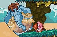 Speel:Snurkende Olifant - Prehistorie