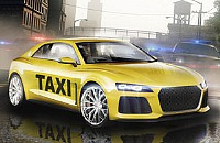 Stad Taxichauffeur