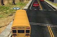 Speel:Schoolbus Parkeren 3D - 2