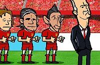 Speel nu het nieuwe voetbal spelletje Louis Van Gaal Spelletje