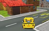 Gele Auto Parkeren
