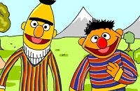 Speel:Bert En Ernie Letters