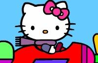 Olá Kitty Para Colorir