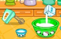 Hello Kitty Donut Muffins