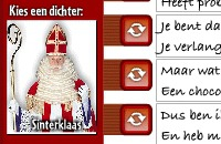 Sint Nicolas Poems Generator
