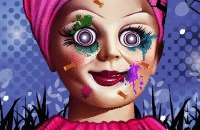 Annabelle Spooky Halloween Make Over