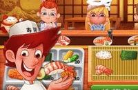 Speel het nieuwe spelletje: Sushi Master Chef