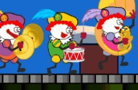 Sinterklaas Spelletje: Clownspieten