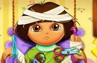 Speel het nieuwe spelletje: Dora In Het Ziekenhuis