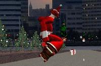 Speel het nieuwe spelletje: Kerstman Skateboard