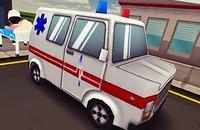 Ziekenwagen Race 3D