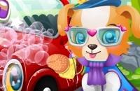 Speel het nieuwe spelletje: Puppy Carwash