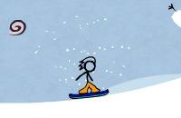 Speel het nieuwe spelletje: Fancy Pants Snowboarding