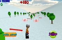 Spiel: Ski Sim - Cartoon