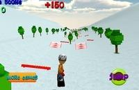Ski Sim - Cartoon