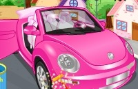 Clean My New Pink Car