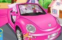Speel het nieuwe spelletje: Roze Auto Schoonmaken