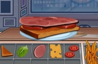 Speel het nieuwe spelletje: Club Sandwich