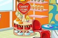 Play Candy Store Decoration