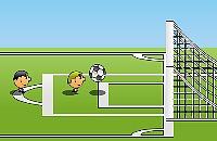 Speel nu het nieuwe voetbal spelletje 1 tegen 1 voetbal