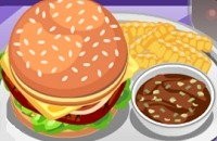 Jouer Burger Déjeuner