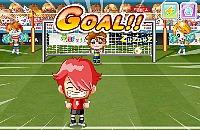 Speel nu het nieuwe voetbal spelletje Penalty Schieten