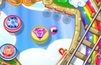 Regenbogen-Stern Pinball