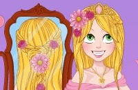 Rapunzel Wedding Braids
