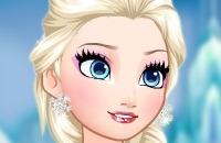 Gefrorene Elsa Makeover
