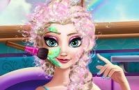 Schwangere Elsa Spa