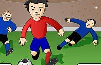 Speel nu het nieuwe voetbal spelletje Slidings Ontwijken