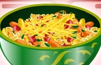 Pimenta Salada De Macarrão