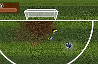 Speel nu het nieuwe voetbal spelletje 3 tegen 1 voetbal