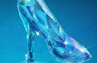 De Elsa Glass Slipper