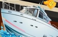 Yacht-Dekoration
