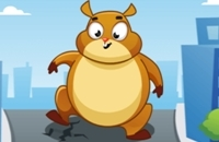New Game: Giant Hamster Run