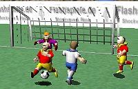 Speel nu het nieuwe voetbal spelletje 3D Voetbal 2
