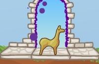 Dans La Détresse De Llama